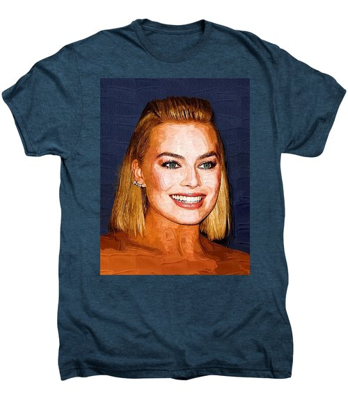 Margot Robbie Art Men's Premium T-Shirt