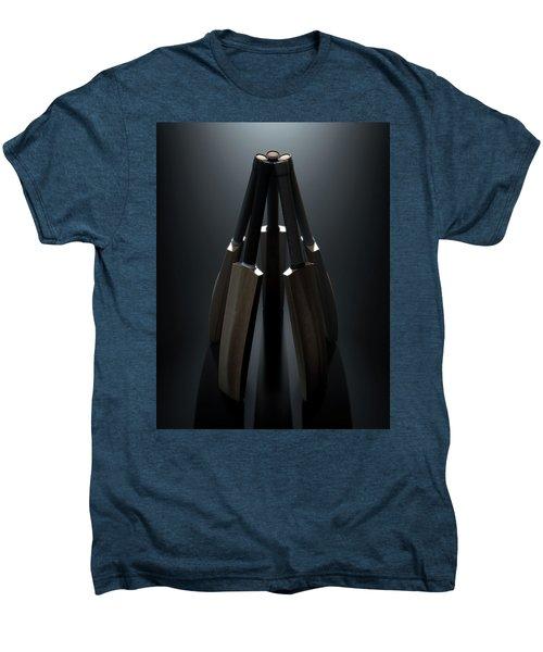 Cricket Back Circle Dramatic Men's Premium T-Shirt by Allan Swart