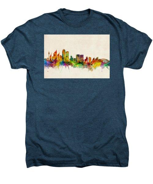 Sydney Australia Skyline Men's Premium T-Shirt