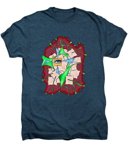 Abstract Digital Art - Deniteus V2 Men's Premium T-Shirt