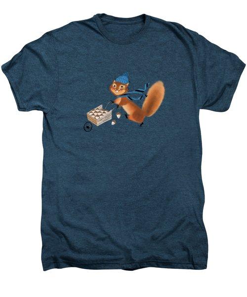 Acorn Industrialist Men's Premium T-Shirt by Little Bunny Sunshine