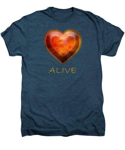 Fire Of Your Heart Men's Premium T-Shirt