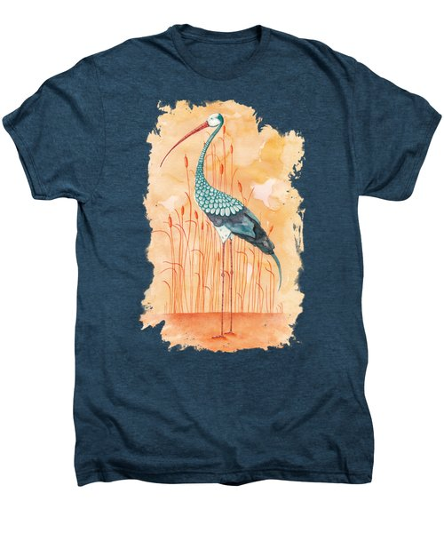 An Exotic Stork Men's Premium T-Shirt by Timmy Timone