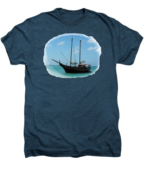 Anchored Men's Premium T-Shirt by David and Lynn Keller