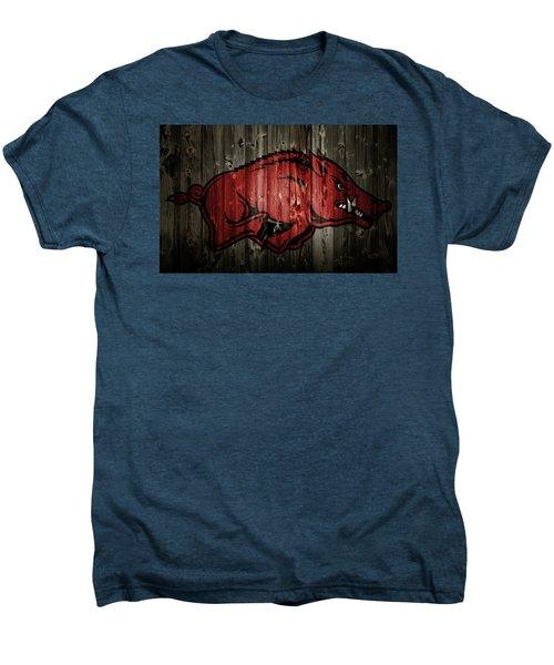 Arkansas Razorbacks 2b Men's Premium T-Shirt by Brian Reaves