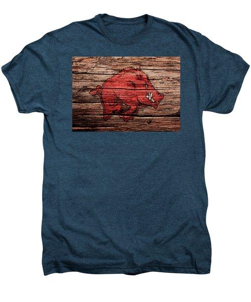 Arkansas Razorbacks Men's Premium T-Shirt by Brian Reaves