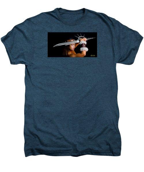 Armed And Dangerous Men's Premium T-Shirt by Rikk Flohr
