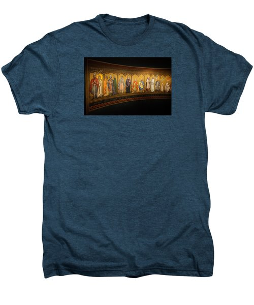 Men's Premium T-Shirt featuring the photograph Art Mural by Jeremy Lavender Photography