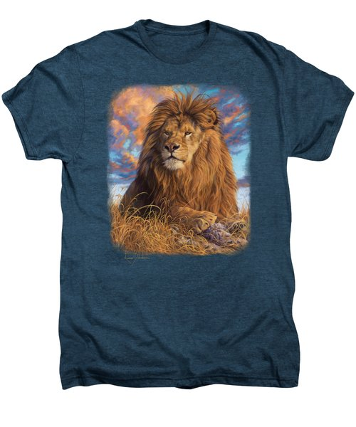 Watchful Eyes Men's Premium T-Shirt by Lucie Bilodeau