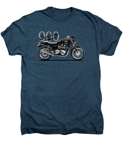 Triumph Thruxton Men's Premium T-Shirt by Mark Rogan