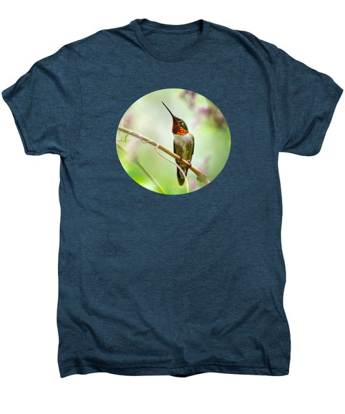 Hummingbird Looking For Love Men's Premium T-Shirt