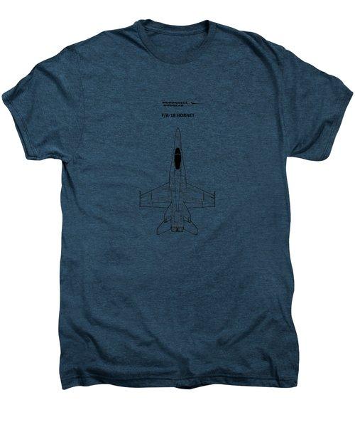 The F-18 Hornet Men's Premium T-Shirt