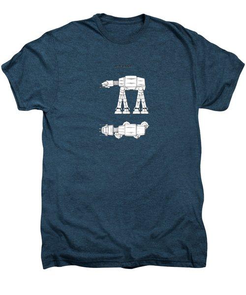 Star Wars - At-at Patent Men's Premium T-Shirt by Mark Rogan