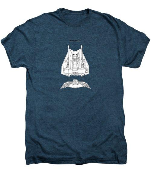 Star Wars - Snowspeeder Patent Men's Premium T-Shirt by Mark Rogan