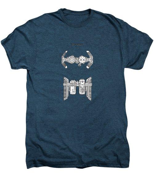 Star Wars - Spaceship Patent Men's Premium T-Shirt by Mark Rogan