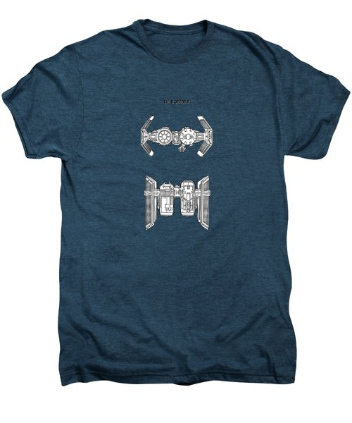 Star Wars - Spaceship Patent Men's Premium T-Shirt