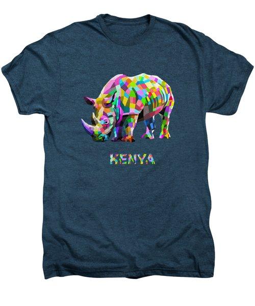 Wild Rainbow Men's Premium T-Shirt