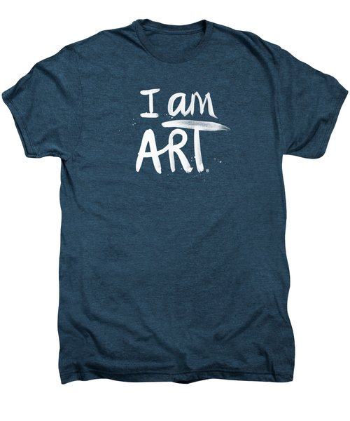 I Am Art- Painted Men's Premium T-Shirt