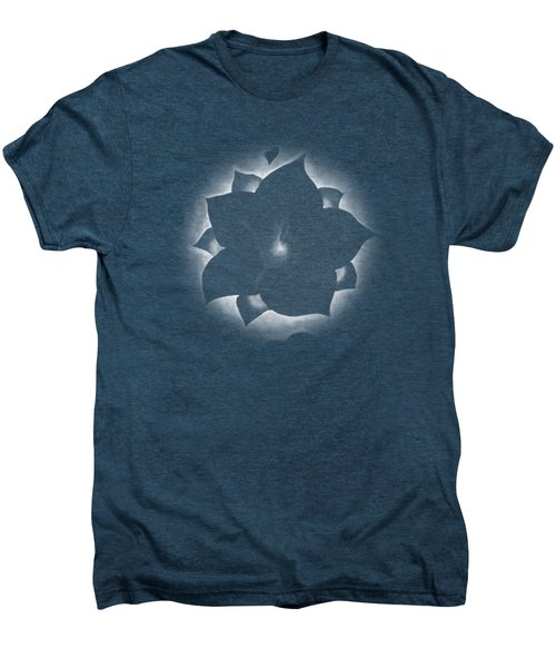Fleur Et Coeurs Monochrome Men's Premium T-Shirt