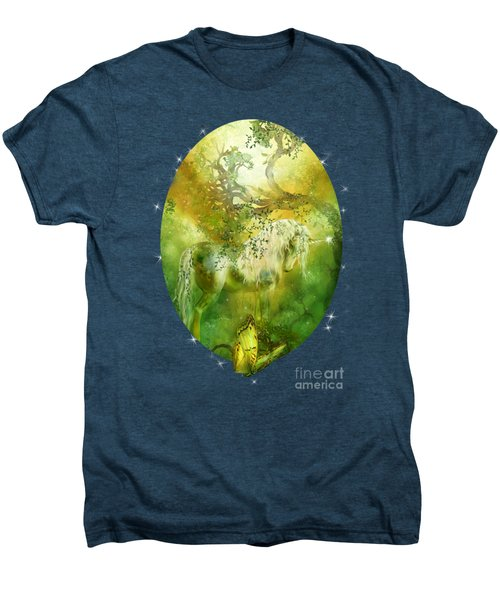Unicorn Of The Forest  Men's Premium T-Shirt