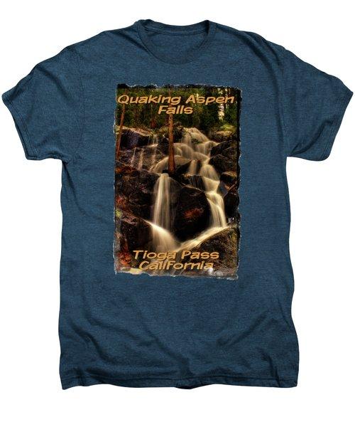 Quaking Aspen Falls Along Tioga Pass  Men's Premium T-Shirt