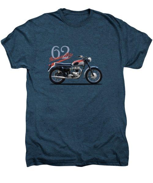 Bonneville T120 1962 Men's Premium T-Shirt by Mark Rogan