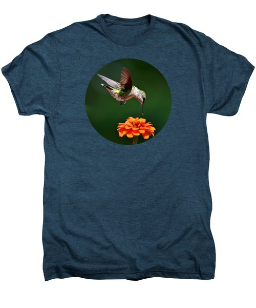 Hummingbird Bullseye Men's Premium T-Shirt