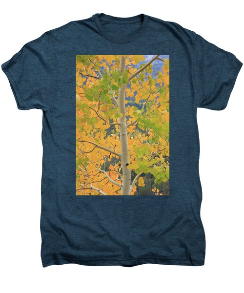 Men's Premium T-Shirt featuring the photograph Aspen Watching You by David Chandler