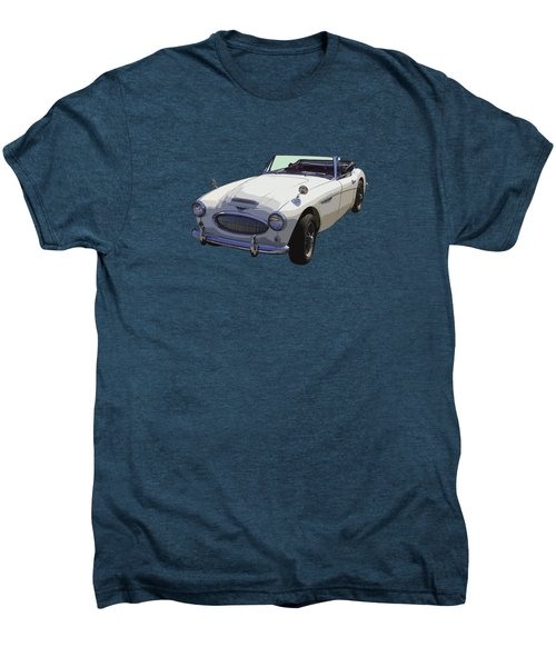 Austin Healey 300 Classic Convertible Sportscar  Men's Premium T-Shirt by Keith Webber Jr