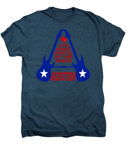 Austin Live Music Capital Of The World Men's Premium T-Shirt