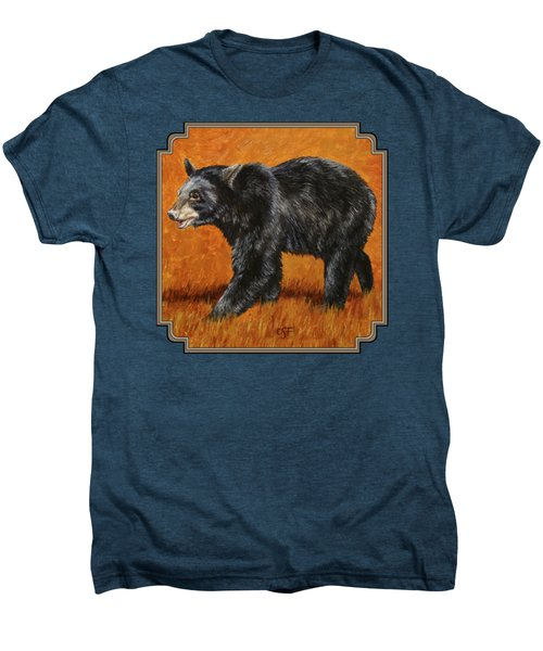 Autumn Black Bear Men's Premium T-Shirt
