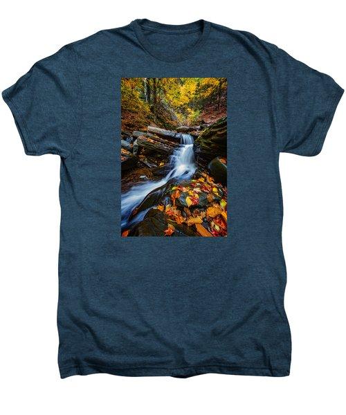 Autumn In The Catskills Men's Premium T-Shirt