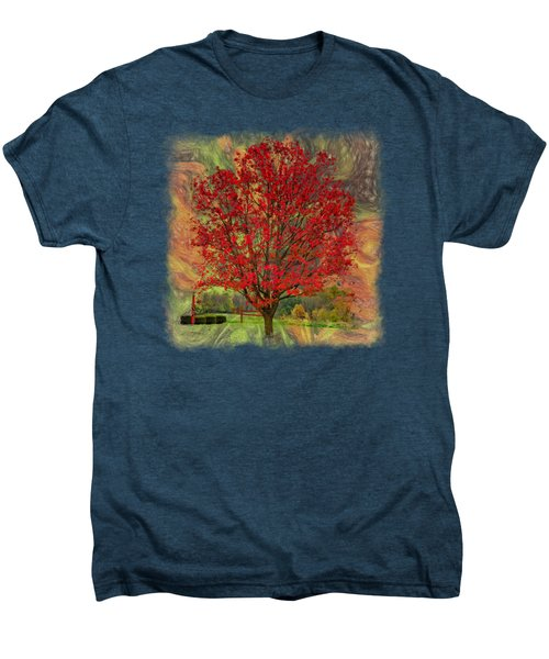 Autumn Scenic 2 Men's Premium T-Shirt
