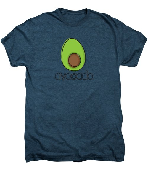 Avocado Men's Premium T-Shirt by Monette Pangan