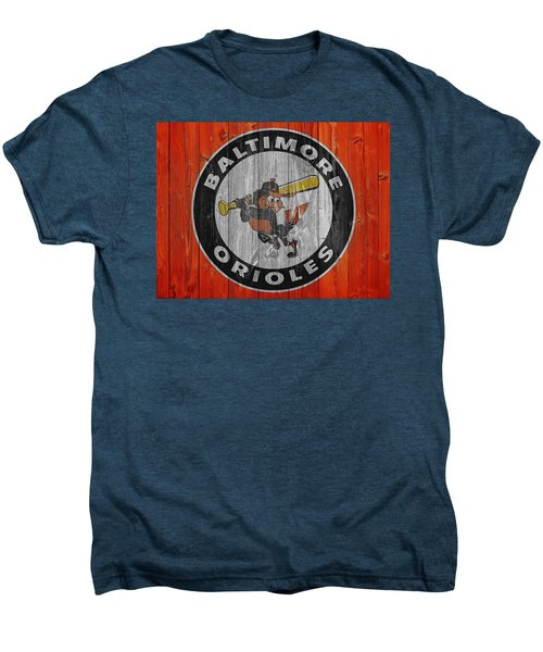 Baltimore Orioles Graphic Barn Door Men's Premium T-Shirt by Dan Sproul