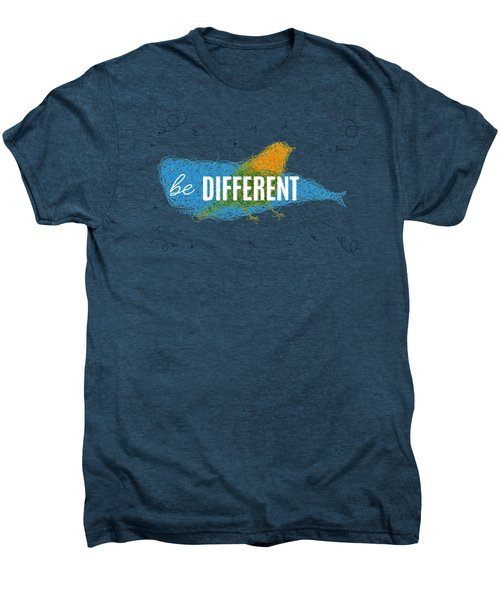 Be Different Men's Premium T-Shirt by Aloke Creative Store