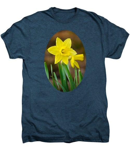 Beautiful Daffodil Flower Men's Premium T-Shirt