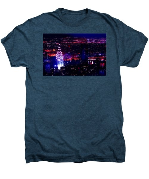 Beautiful Manhattan Skyline Men's Premium T-Shirt by Az Jackson