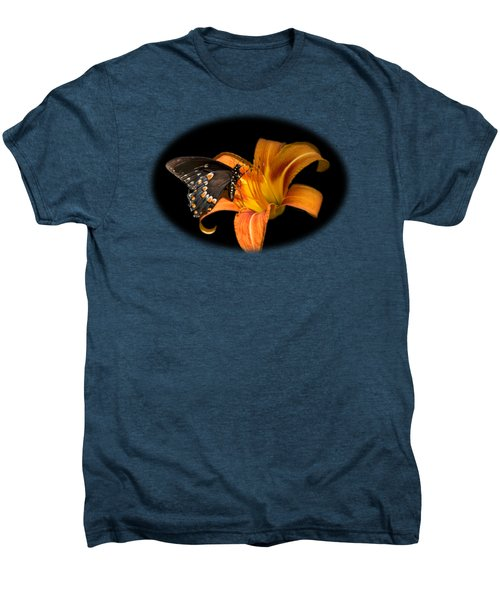 Black Beauty Butterfly Men's Premium T-Shirt by Christina Rollo