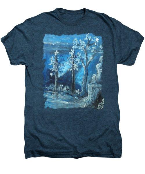 Blue Nature Men's Premium T-Shirt