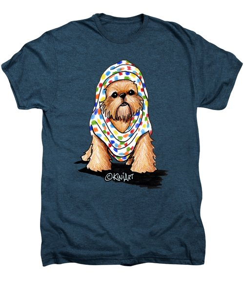 Brussels Griffon Beauty Men's Premium T-Shirt by Kim Niles