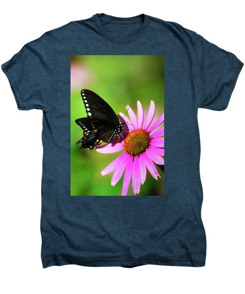 Butterfly In The Sun Men's Premium T-Shirt