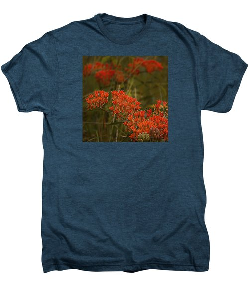 Butterfly Weed Asclepias Tuberosa Men's Premium T-Shirt by Bellesouth Studio