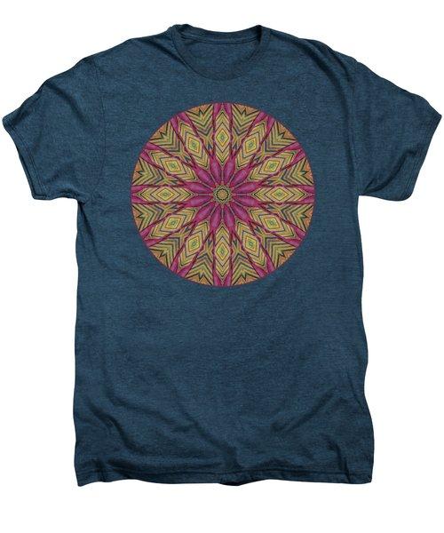 Canna Leaf - Mandala - Transparent Men's Premium T-Shirt