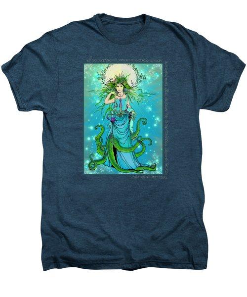 Cephalopod Princess Men's Premium T-Shirt by Katherine Nutt