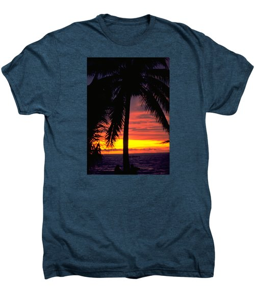 Champagne Sunset Men's Premium T-Shirt
