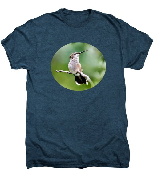 Charming Hummingbird Men's Premium T-Shirt by Christina Rollo
