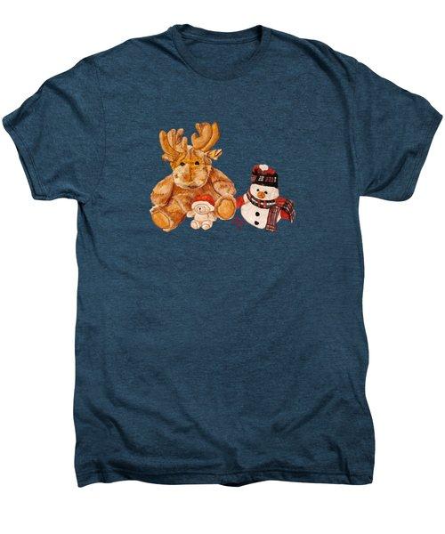 Christmas Buddies Men's Premium T-Shirt