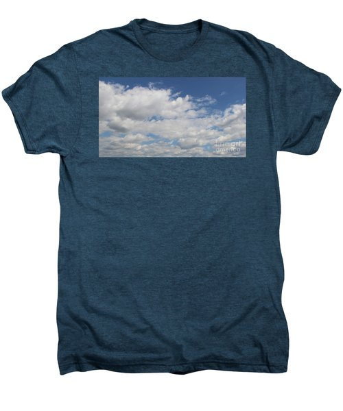 Men's Premium T-Shirt featuring the photograph Clouds 17 by Rod Ismay