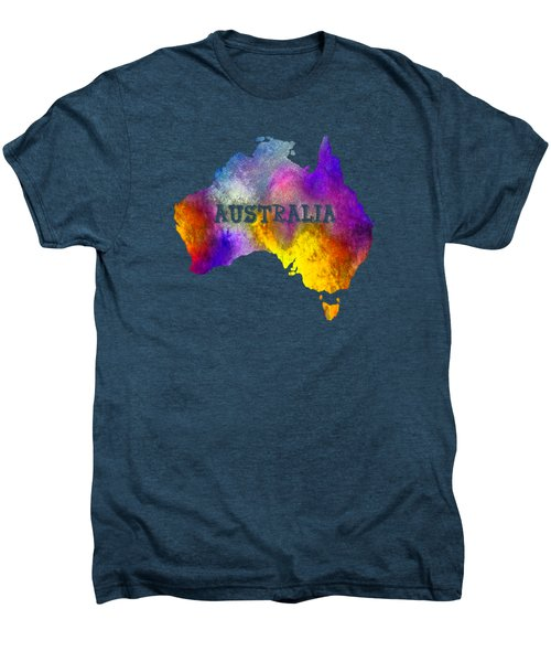 Colorful Australia Men's Premium T-Shirt